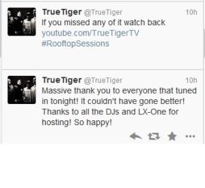 tiger tweet